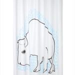 Niina Aalto_Ikea_Tydingen_shower curtain_Picture by Ikea_R